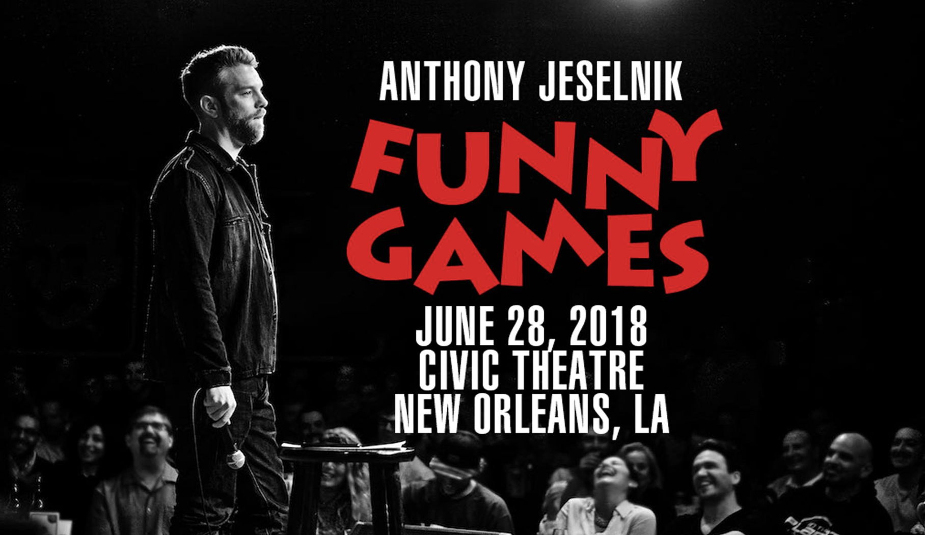 Anthony Jeselnik at the Civic Theatre