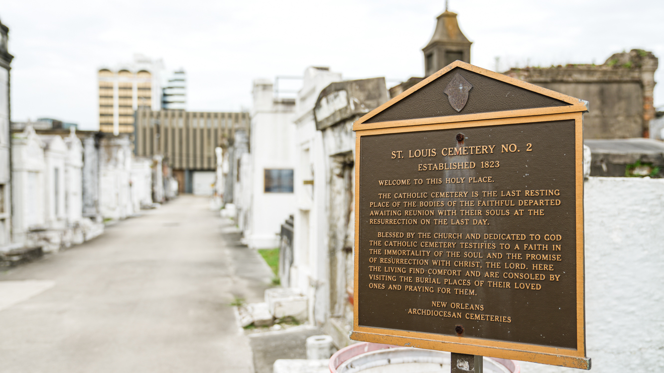 St.Louis Cemetery No. 2