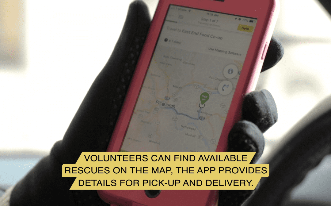Here's a walkthrough of an actual 412 Food Rescue